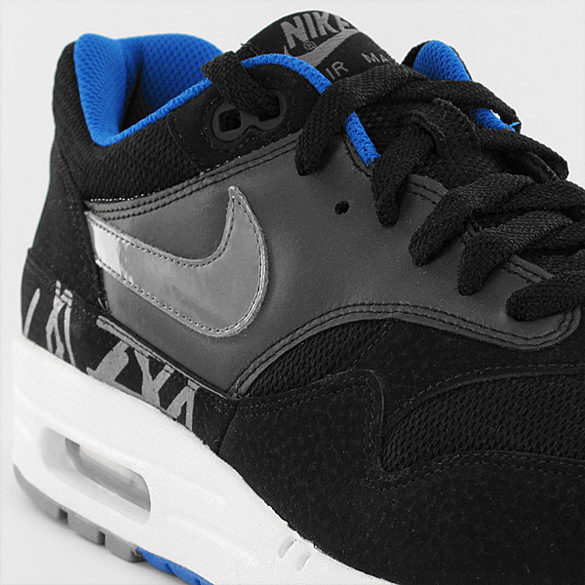 Nike Air Max 1 - Black / Grey / Blue