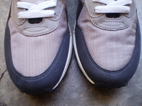 Nike Air Max 1 - Medium Grey / White - Dark Obsidian