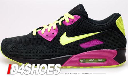 air max 90 black and pink