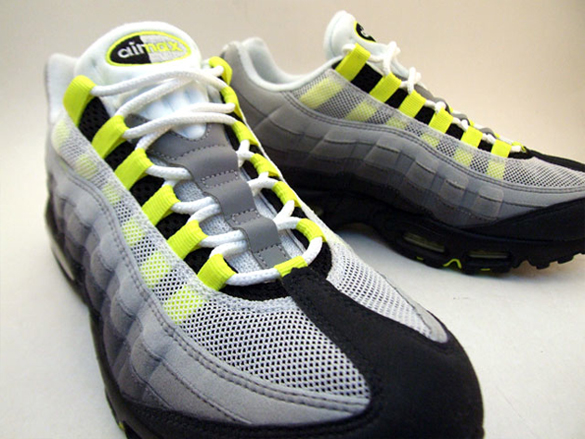 Nike Air Max 95 Classic LE - Grey / Neon Yellow