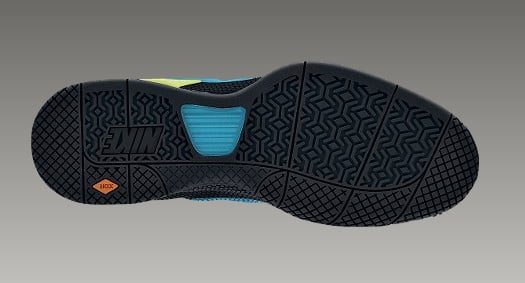 Nike Air Max Courtballistec 13 - Black / Neon Turquoise Volt Black