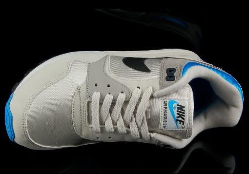 Nike Air Pegasus 89 - Light Bone / Vivid Blue / Black