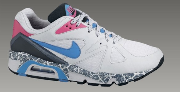 Nike Air Structure Triax 91 - Neutral Grey / Neon Turquoise - Light Rose - Pavement Grey