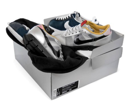 Nike Cortez Brothers Double Pack: Cortez Classic, Cortez Flymotion & Toys
