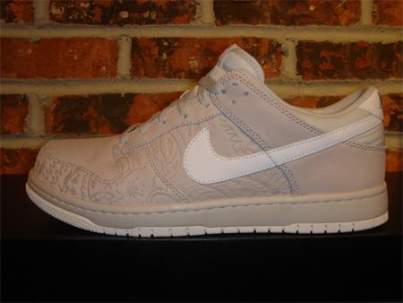 Nike Dunk Low Supreme - Neutral Grey / White