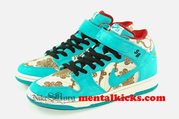 Nike Dunk Mid SB - Aegean Blue / Aegean Blue Sample