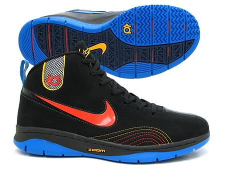 Nike Kevin Durant KD1 - Black / Team Orange - Photo Blue