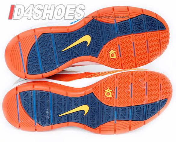 Nike Kevin Durant KD1 X - White / Photo Blue - Team Orange