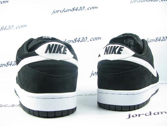 Nike SB Dunk Low - Black / White