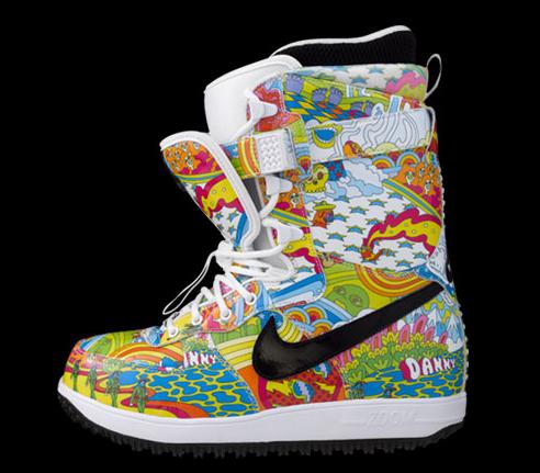 Nike Snowboarding x Arbito - Danny Kass Zoom Force 1 Boots