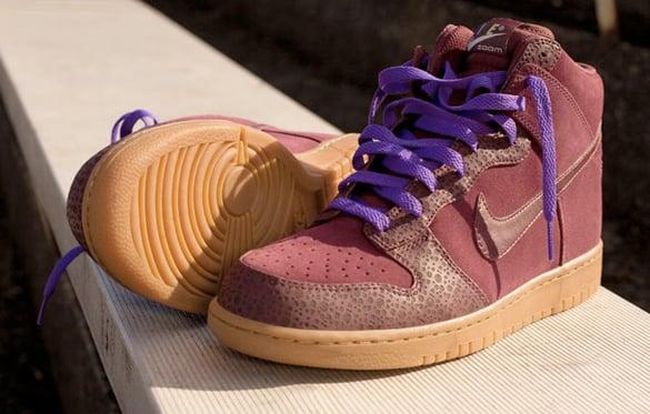 Nike Sportswear Dunk High Safari - Purple / Gum