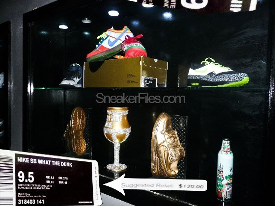 Nike What The Dunk Retail Box - Not For Sale!