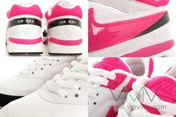 Nike Womens Air Classic BW - White / Vivid Pink / Black