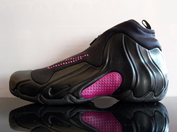Nike Womens Air Flightposite 1 - Black / Pink