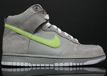Nike Womens Dunk Low - Medium Grey / Pink Glaze - White