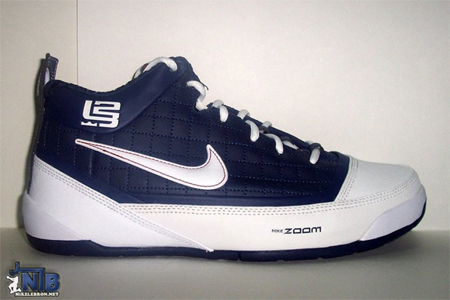 Nike Zoom Lebron James Ambassador - Midnight Navy / White - Crimson   Asia Release
