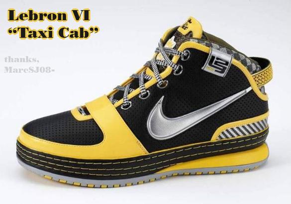 Nike Zoom Lebron VI (6) - Taxi Cab