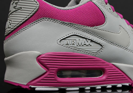 Too Cute: Nike Women's Air Max 90 Medium Grey/Rave Pink