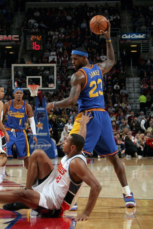 On Court: Nike Zoom Lebron VI (6) - Hardwood Classics Part 2