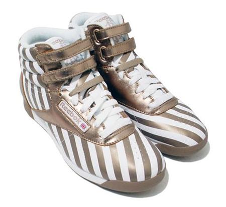 Reebok Freestyle Hi Stripes Collection