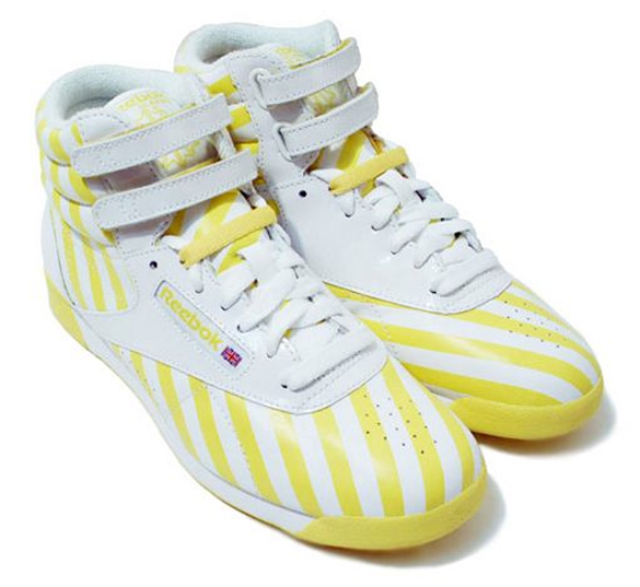 Reebok Freestyle Hi Stripes Collection