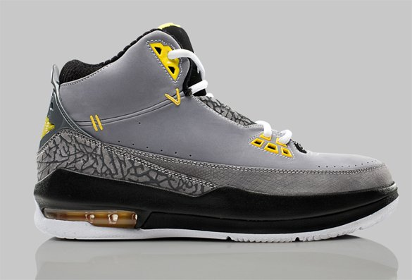 Release Reminder: Air Jordan 2.5 - Stealth / Varsity Maize - Graphite - Black