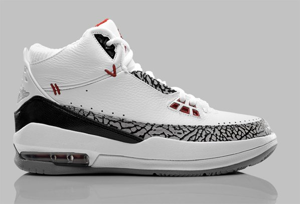 Release Reminder: Air Jordan 2.5 - White / Varsity Red - Cement - Black