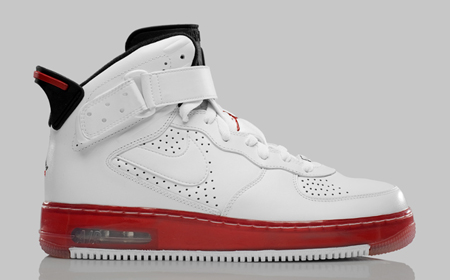 Release Reminder: Air Jordan Force Fusion VI (6) - White / Black - Varsity Red