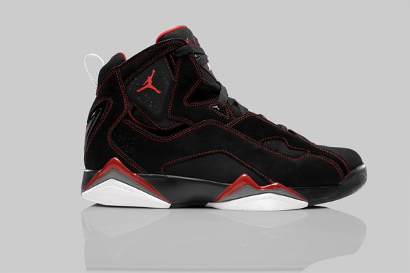 Release Reminder: Air Jordan True Flight - Black / Varsity Red - Light Graphite - White