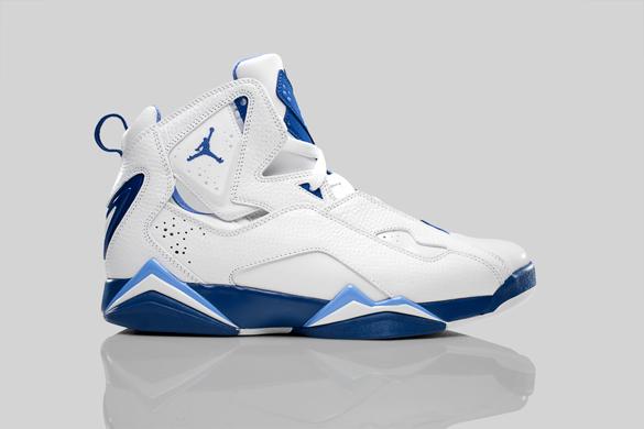 Release Reminder: Air Jordan True Flight - White / Court Blue - University Blue