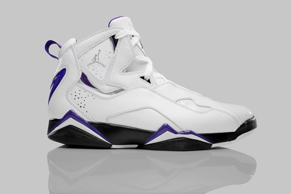 Release Reminder: Air Jordan True Flight – White / Metallic Silver – Black