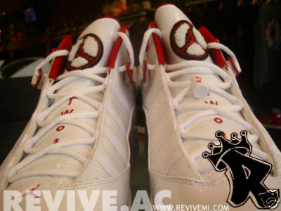Richard Hamilton's Air Jordan 6 Rings Player Exclusive White/Varsity Red