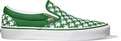 Vans St. Patrick's Day Pack - Authentic & Slip-On