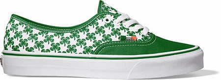 Vans Authentic - St. Patrick's Day