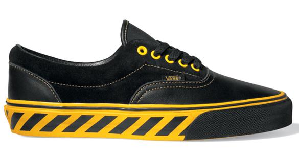 vans yellow and black