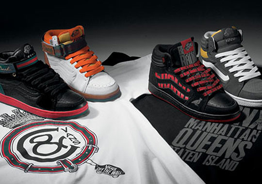 Vans Forty-Four Hi x Crooks & Castles & 5Boro - West Coast vs. East Coast Collection