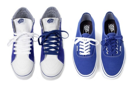 Off the Wall: Vans Royal Blue Checkered Pack SK8-Hi and Authentic