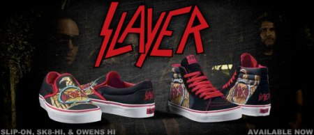 Vans x Slayer Pack | Sk8 Hi, Slip-On, Owens Hi