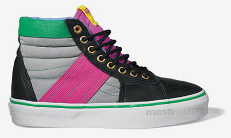 Vans Vault Fall/Winter 2009 Preview - SK8-Hi, Chukka Del Barco & Needle LX