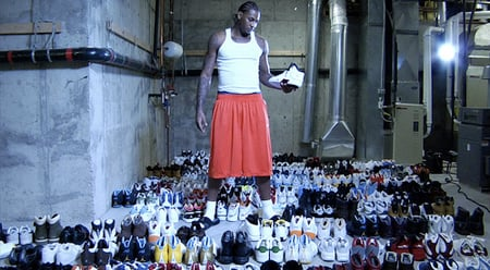 A Look At Carmelo Anthony's Collection