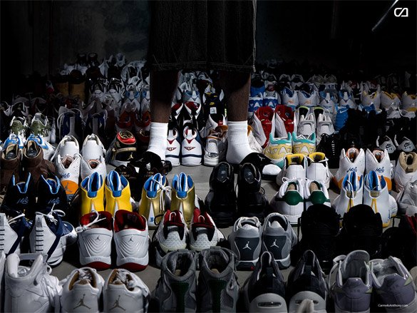 A Look At Carmelo Anthony's Collection | Sneaker Files