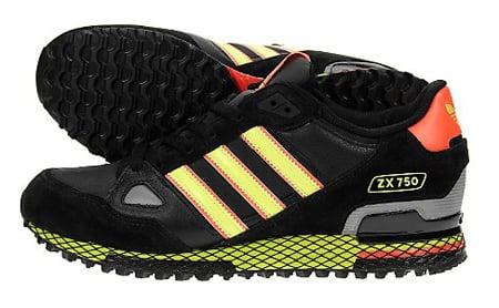 adidas Originals ZX 750 - Black / Electric / Poppy