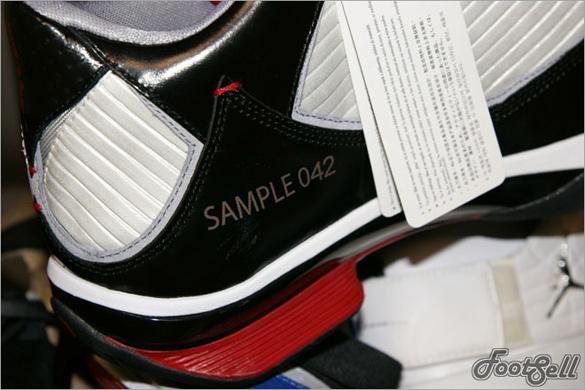 Air Jordan 2009 Sample - Black / Varsity Red  - White