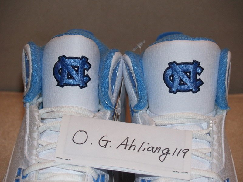 Air Jordan 2.5 - UNC Player Exclusive (PE) Sample