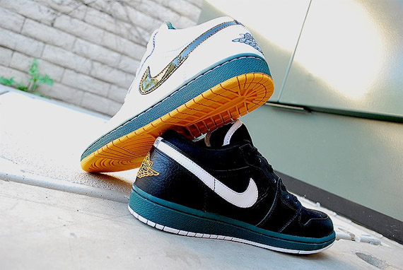 Air Jordan Championship Pack - Seattle Supersonics