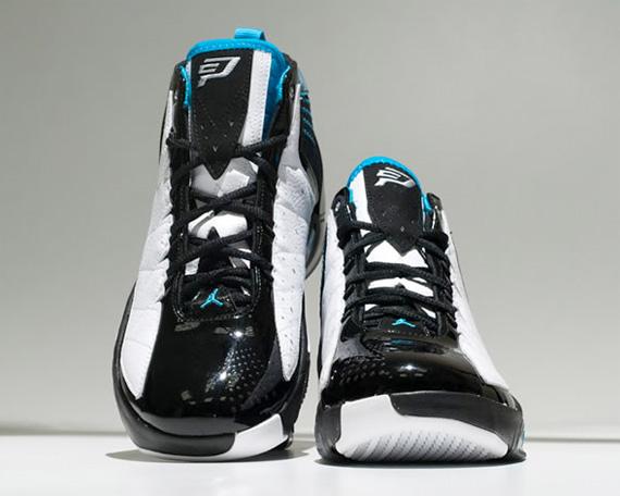 Air Jordan CP3 II - Black / White / Teal