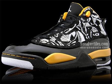 Air Jordan Dub Zero - Black / Maize