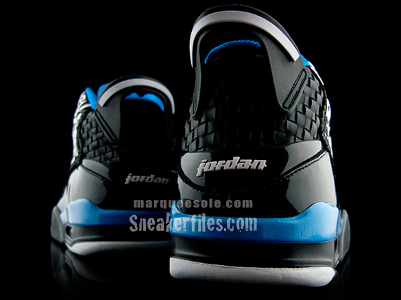 Air Jordan Dub Zero - Black / Laser Blue