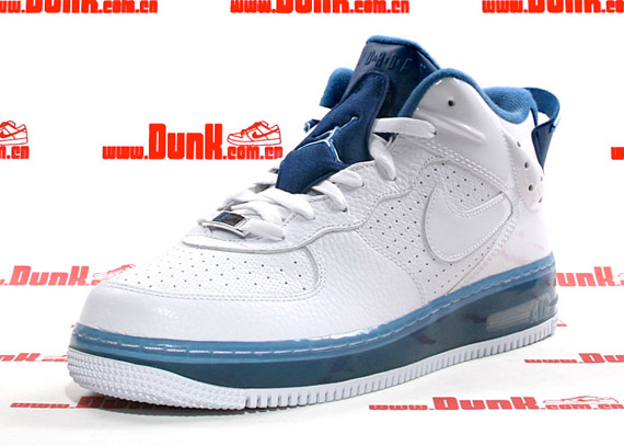 Air Jordan Fusion VI (6) 5/8 - White / Court Blue - University Blue