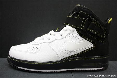 Air Jordan Fusion VI (6) - White / Black - Electric Lime